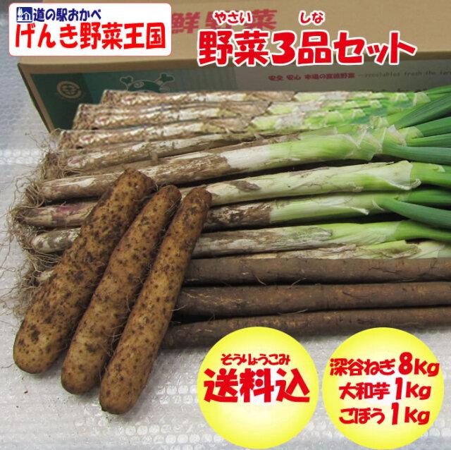 野菜3品セット