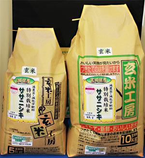30年産 【送料無料】宮城県産ササニシキ玄米15kg