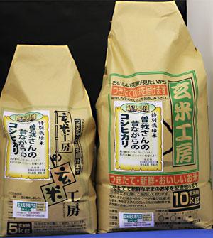 31年産 【送料無料】新潟県産コシヒカリ玄米15kg 昔ながらのコシヒカリ
