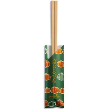 割り箸ボールペン 秋柄