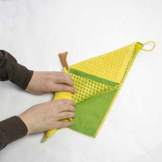 OTTK-01 折り巻きタオル (とうもろこし)