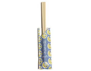 WB-29 割り箸ボールペン かぼす 水色