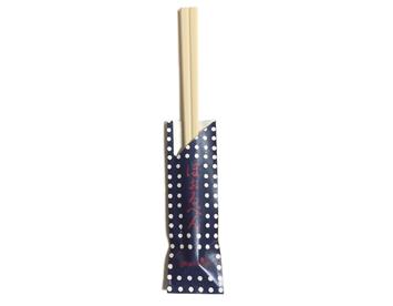 WB-26 割り箸ボールペン 豆しぼり 紺