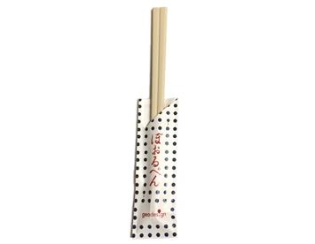 WB-24 割り箸ボールペン 豆しぼり 白
