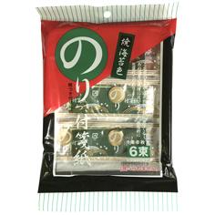 のりつき付箋紙 焼海苔(濃緑色)
