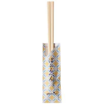 割り箸ボールペン 和柄(七宝水色)