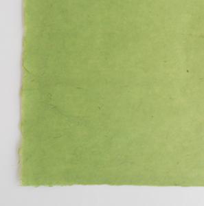 カラー手漉き緑濃