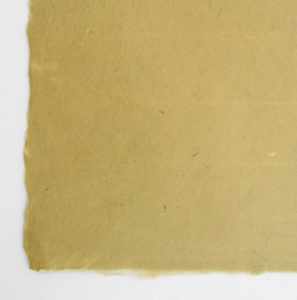 カラー手漉き緑淡