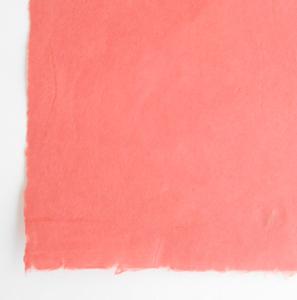 カラー手漉き赤