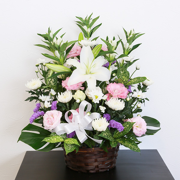 お供え花 10,000円タイプ 生花アレンジ 線香セット