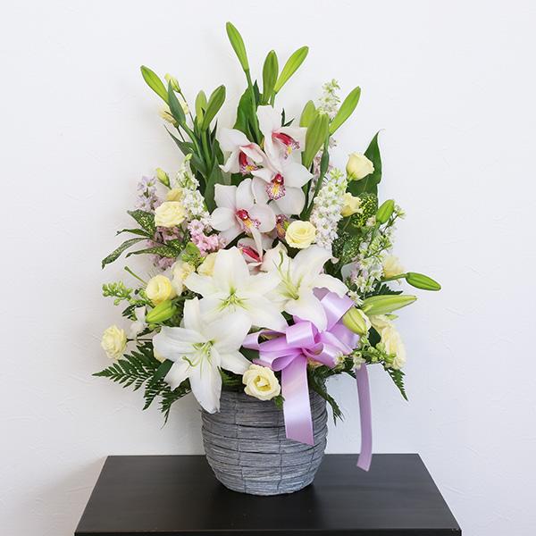 お供え花 15,000円タイプ 生花アレンジ 線香セット