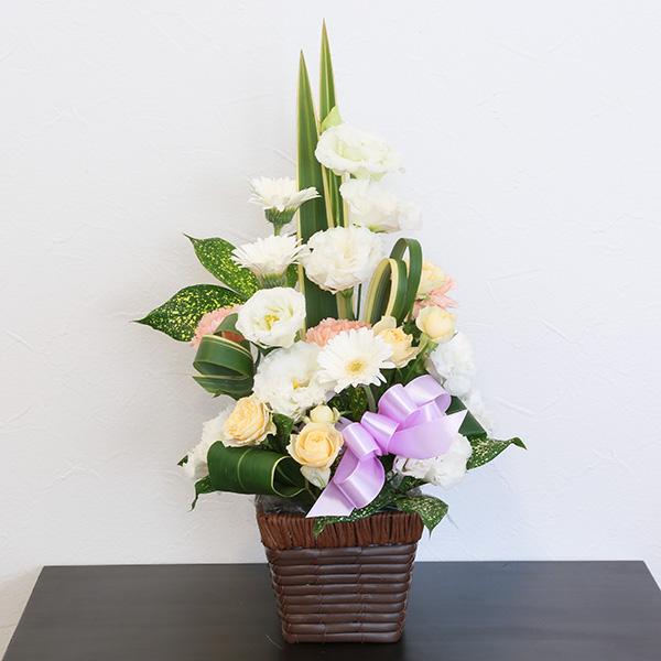 お供え花 5,000円タイプ 生花アレンジ 線香セット