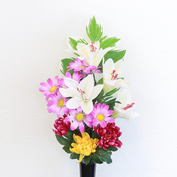 仏花 墓花 アートフラワー 線香セット