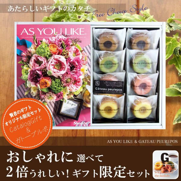 カタログギフト4.104円コース+井桁堂 ガトープルポ