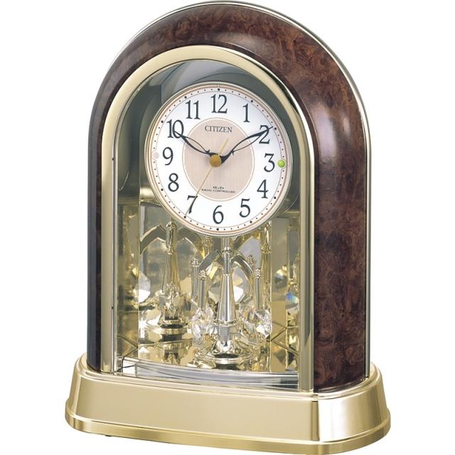 全国送料無料 シチズン 電波置時計 (4RY656-023)<C1064034>