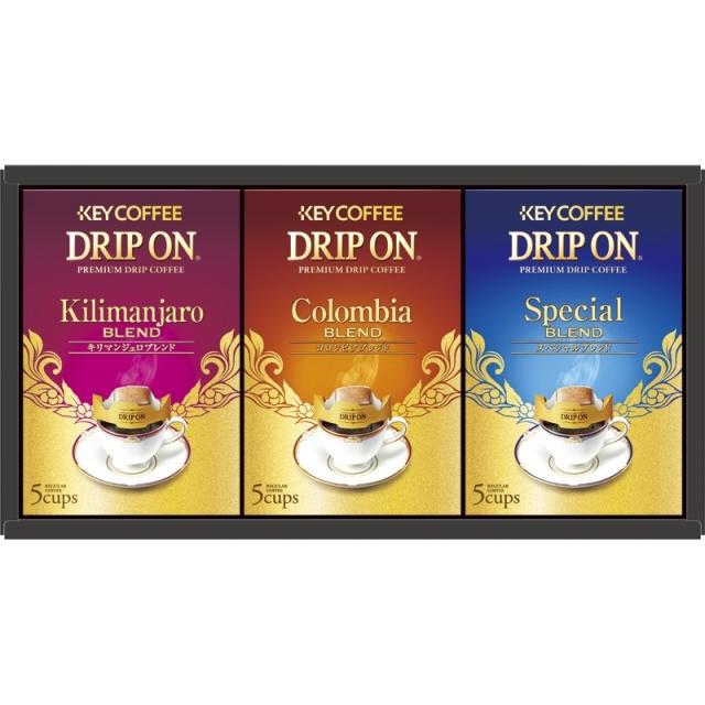 キーコーヒー KDV ドリップオン ギフト(KDV-15M)** <C2242548>