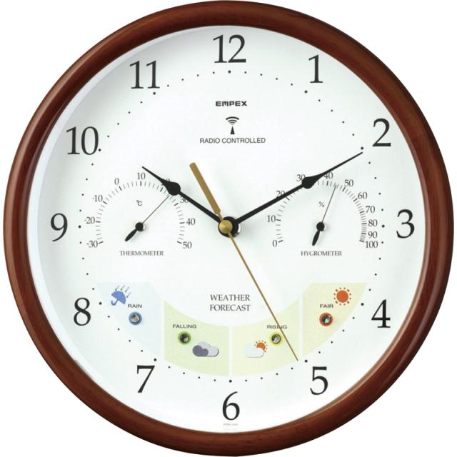 エンペックス ウエザーパル電波時計(BW-873)