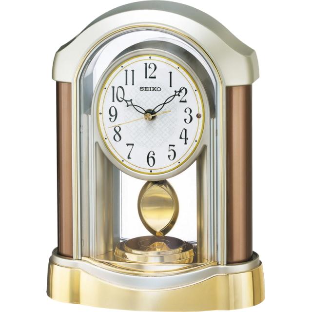 セイコー 電波置時計(BZ238B)