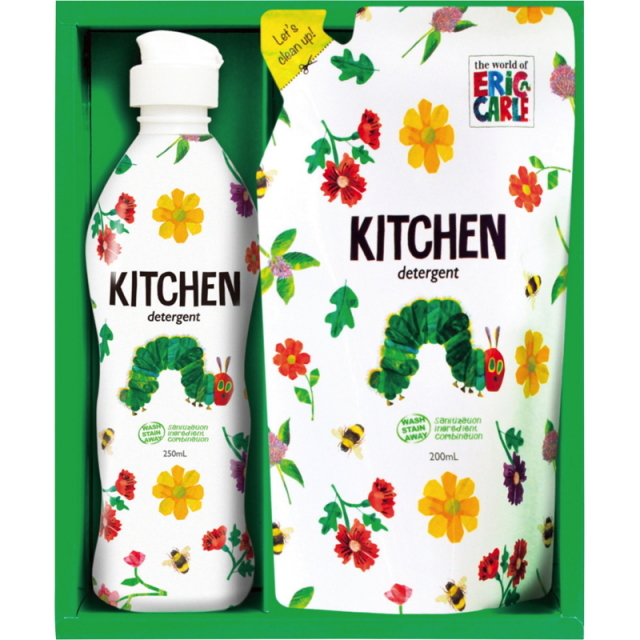 はらぺこあおむし キッチン洗剤セット(H-07AS)