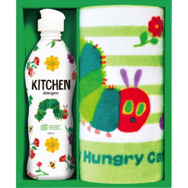 はらぺこあおむし キッチン洗剤タオルセット(H-08AS)