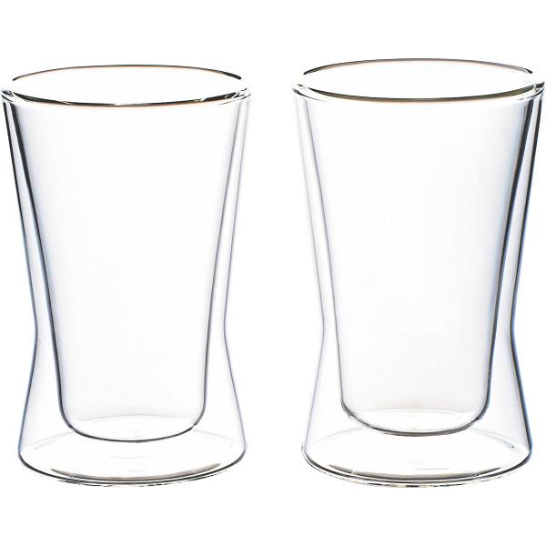 ウェルナーマイスター 耐熱二重ガラス ペアタンブラーセット   800-542