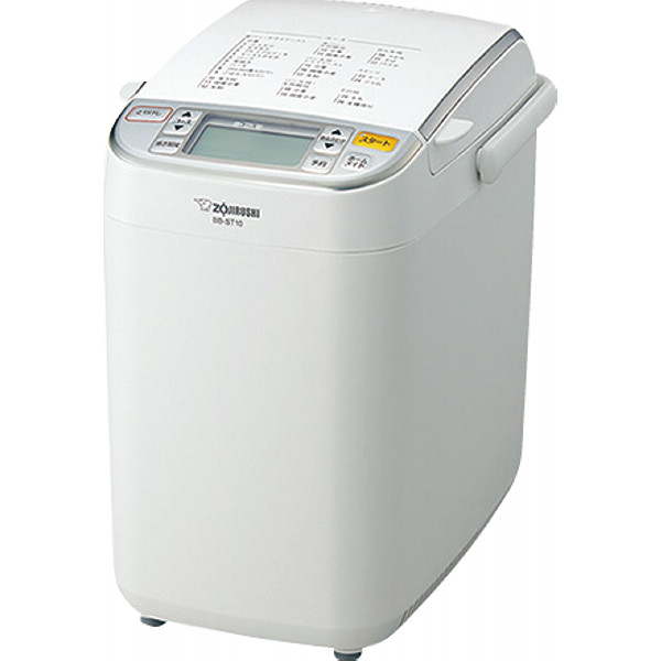 【送料無料】  象印 ホームベーカリー(1斤) ホワイト  BB-ST10-WA