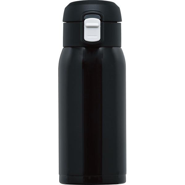 オミット ワンタッチ栓マグボトル(350ml) ブラック  RH-1516