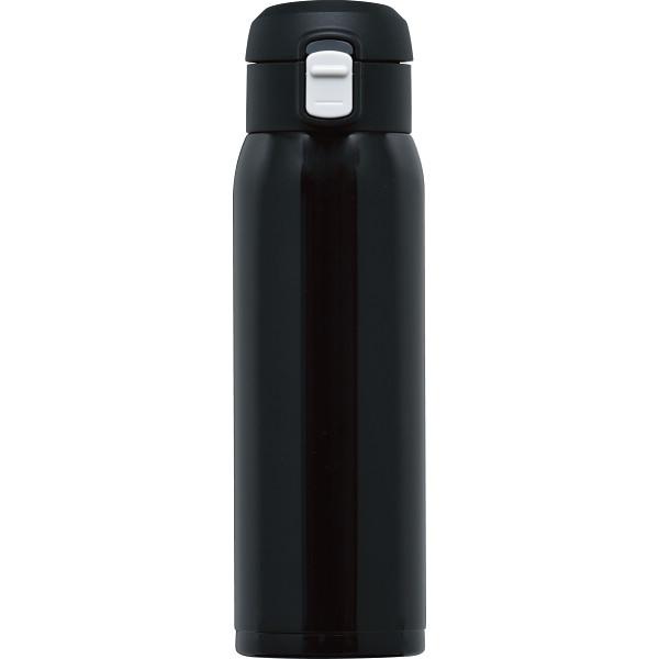 オミット ワンタッチ栓マグボトル(500ml) ブラック  RH-1519