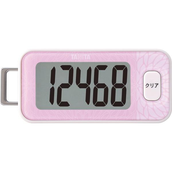 タニタ 3Dセンサー搭載歩数計 ピンク  FB-740-PK
