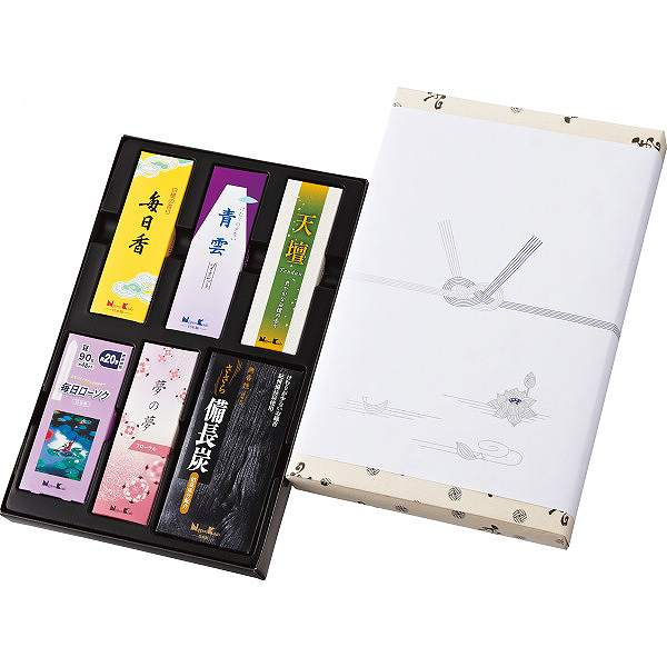 日本香堂 御香セット2000(包装済)
