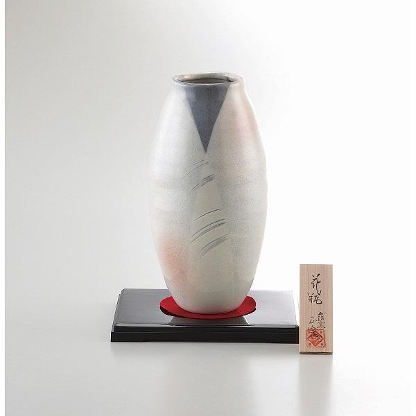 美濃焼 手描工房 8号花瓶 タル型   YJ15-02