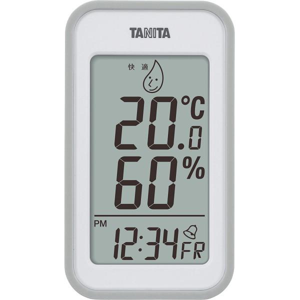 タニタ デジタル温湿度計 オレンジ  TT559OR