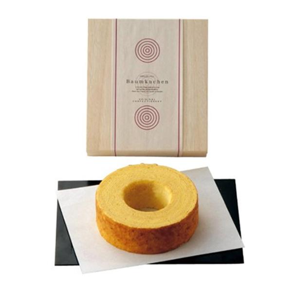 【引菓子番号:742】輪 大きな生バウム(木箱入り)