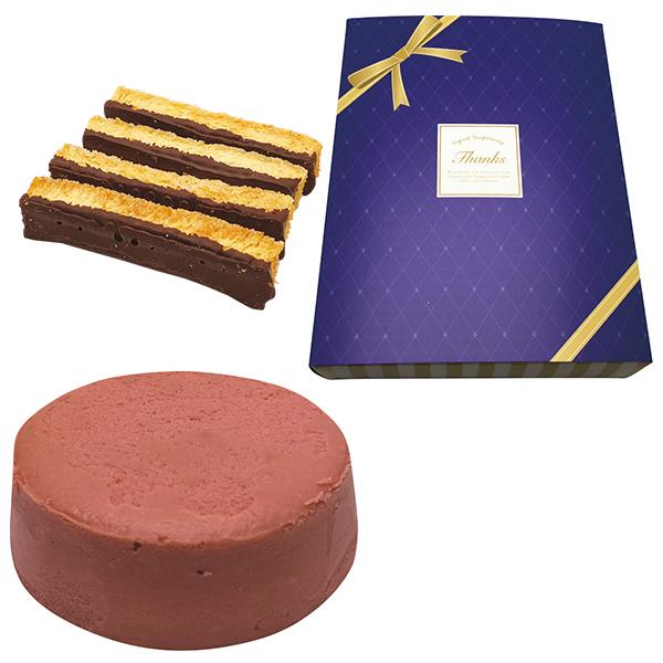 【引菓子番号:750】スイートジュエル 赤チーズケーキ・ラスク