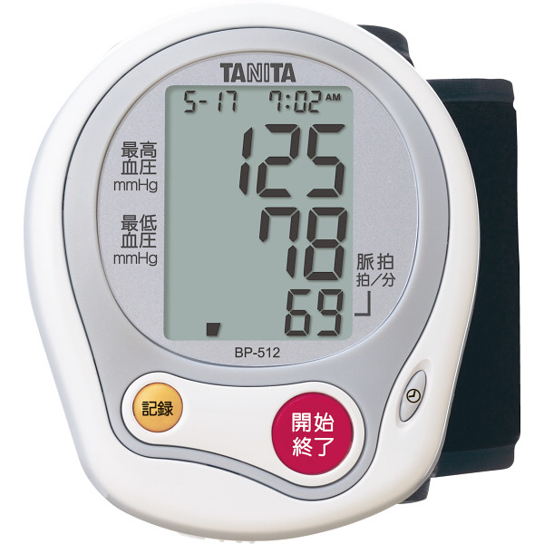 タニタ 手首式血圧計   BP-512