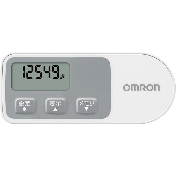 オムロン 歩数計 ウォーキングスタイル ホワイト  HJ-321-W