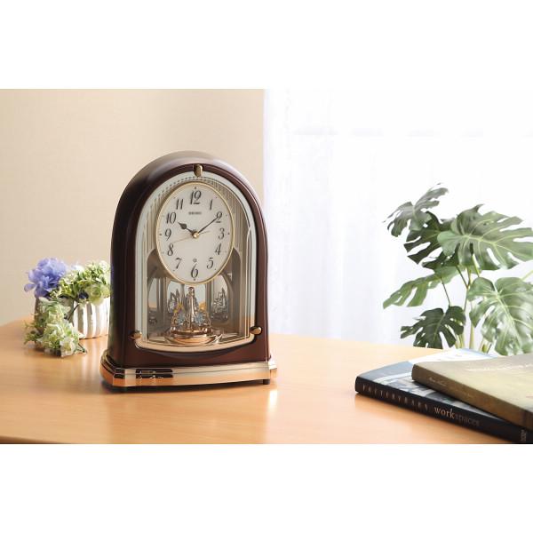 【送料無料】  セイコー 電波メロディ置時計(16曲入)   BY239B