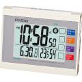 カシオ 生活環境お知らせ電波時計  ホワイト  DQL-210J-7JF