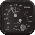 タニタ 温湿度計 ブラック  TT-570-BK