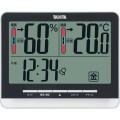 タニタ デジタル温湿度計  ブラック  TT538BK