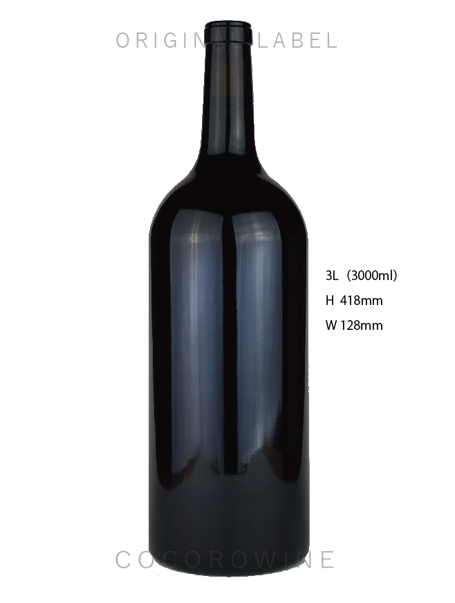 【パーティやイベントに】巨大ボトルワインルージュ3000ml(赤ワイン)