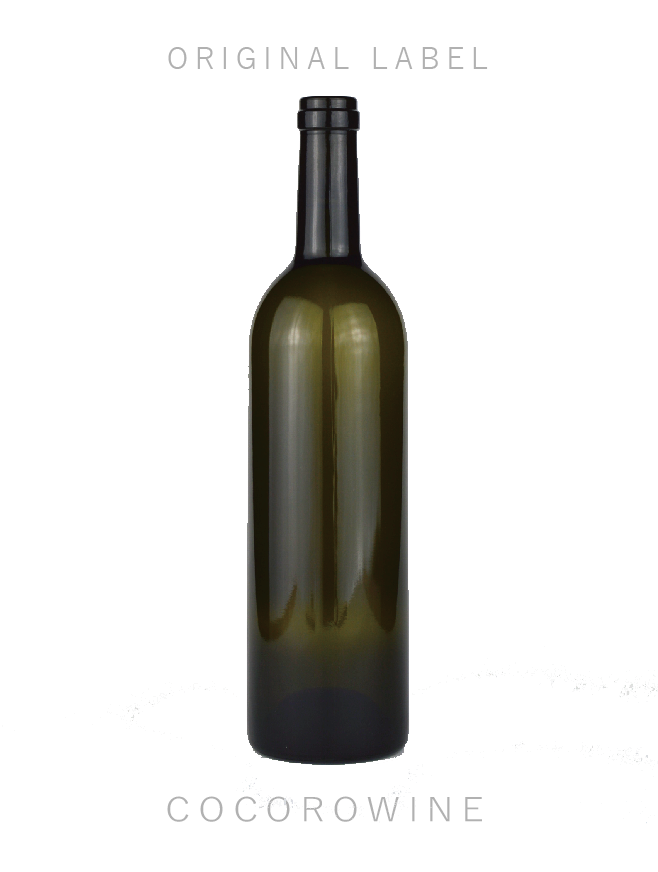 【記念品や内祝に】オリジナル白ワイン・シャルドネ・フルボトル(750ml)