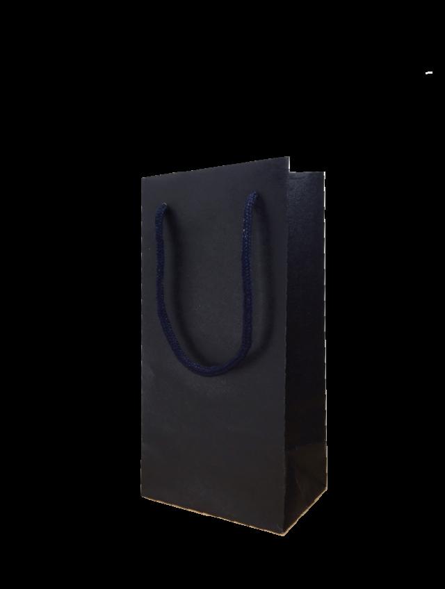 手提袋(ミニボトル紅白セット用/クラフトネイビー)