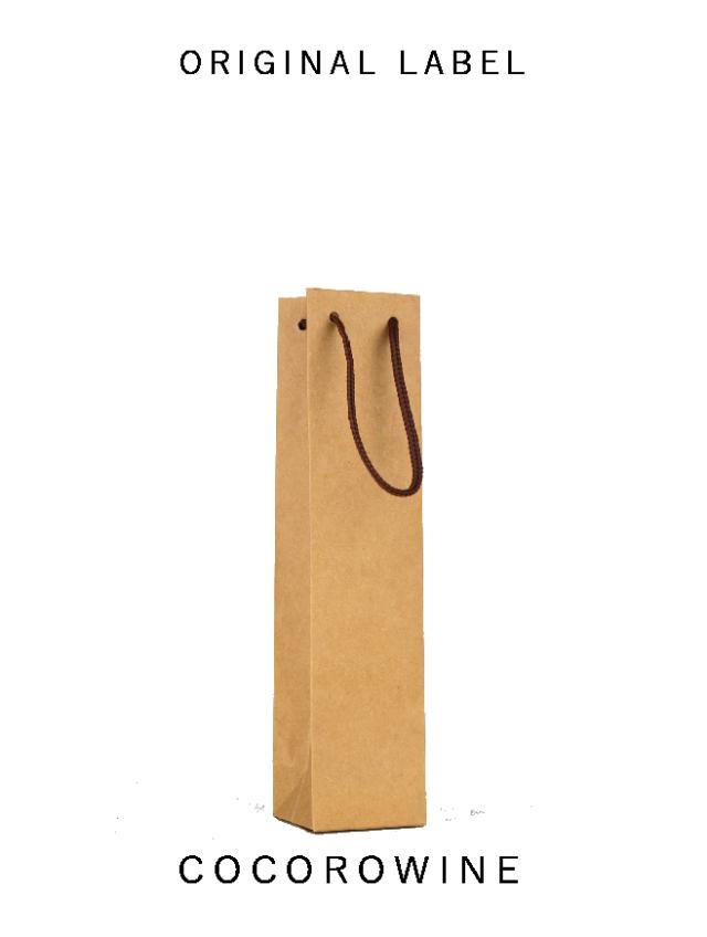 手提袋(ミニボトル用/クラフト)