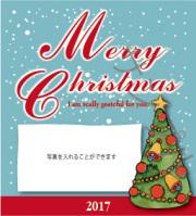 クリスマスオリジナルラベル(写真)