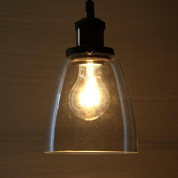 ペンダントライト ガラス アンティーク レトロ LED対応 1灯 シンプル おしゃれ 筒型 ヴィンテージ風 インダストリアル カフェ風 ビンテージペンダントランプA [abk4525]