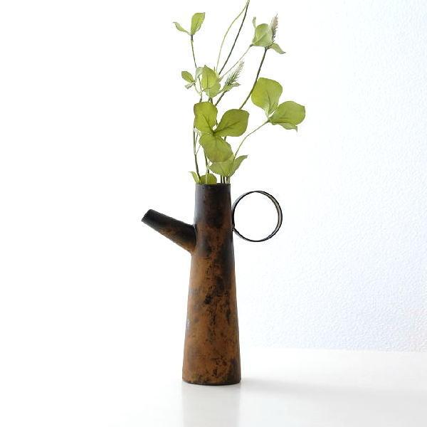 ラスティジャグ 花瓶 フラワーベース ドライフラワー専用 アンティーク おしゃれ かわいい アイアン アイアンのラスティジャグ [aks0626]