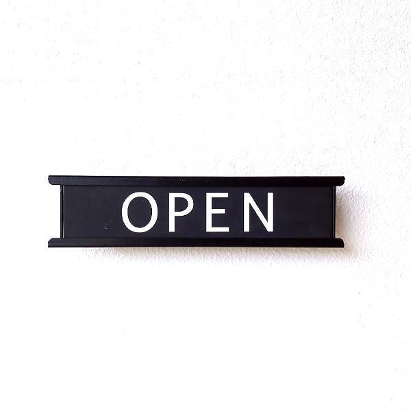 オープン クローズ 看板 OPEN CLESED プレート おしゃれ アイアン カフェ お店 店舗 ショップ スタイリッシュなアイアンサインプレート [aks7717]