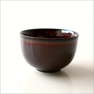 煎茶碗 うるし釉 [aks9081]