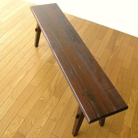 ベンチ 木製 120 長椅子 玄関 アジアン家具 木製ベンチ120 【送料無料】 [akt7326]